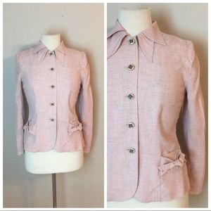 Vintage 40's Blazer suit jacket